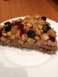 Dulciuri dietetice: tarta cu fructe dietetica