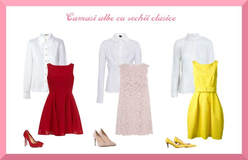 Cămașă și rochie clasică pentru interviu angajare