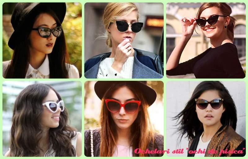 Ultimele tendinte in materie de ochelari de soare