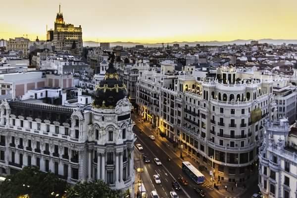 Cele mai frumoase orașe din Europa: Madrid, Spania