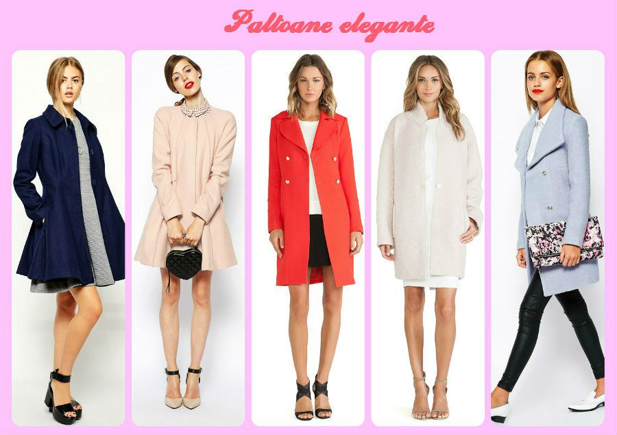 Un palton elegant pentru femei la 40 de ani