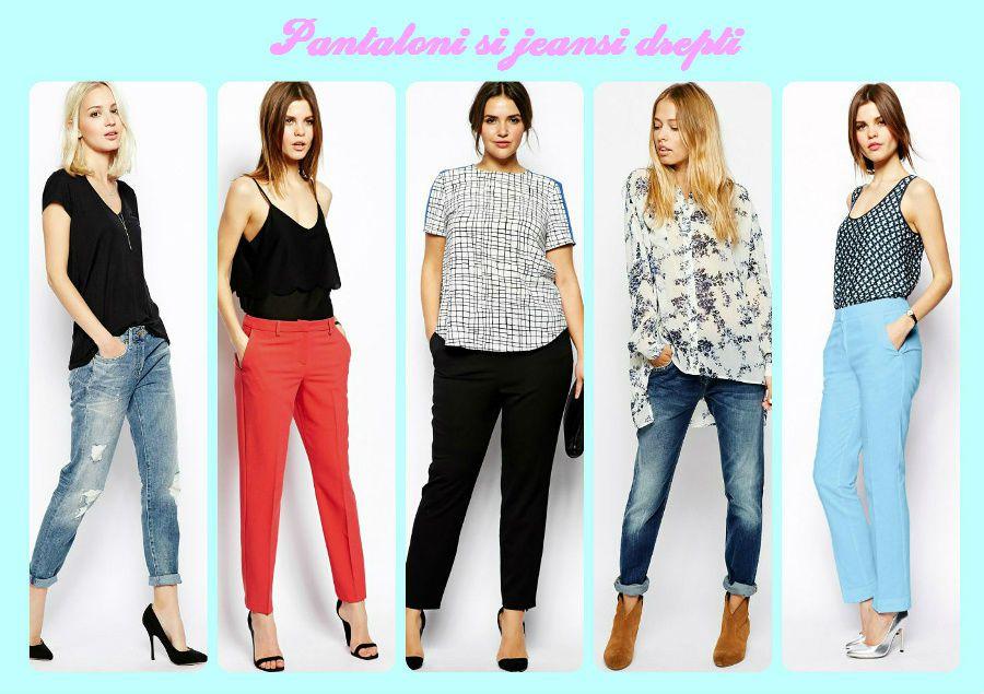 Pantalonii drepti sau largi pentru femei la 40 de ani