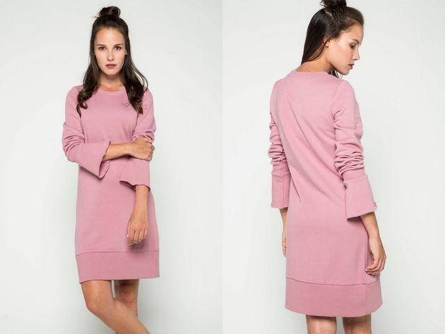 Rochii sac de culoare roz
