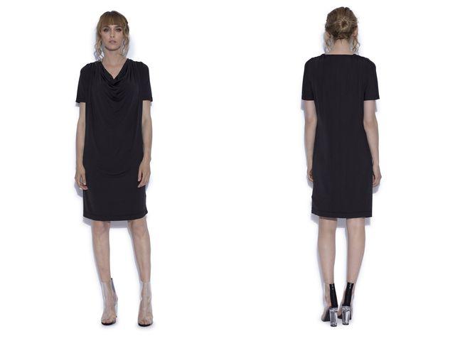 Modele de rochii midi negre