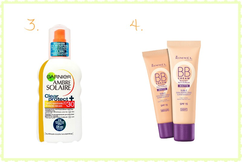 Despre cosmetice pe care le folosesc vara