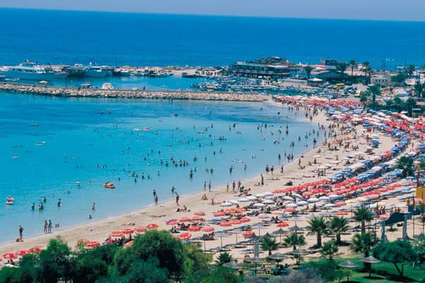 Plaja Ayia Napa, Cipru