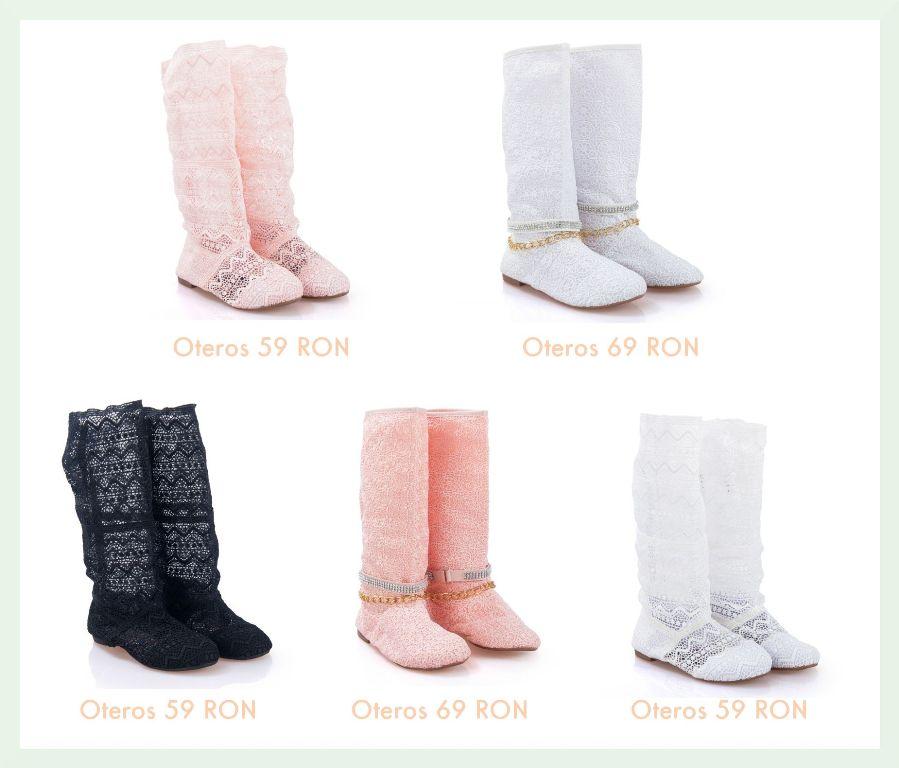 Modele de cizme de vara tricotate