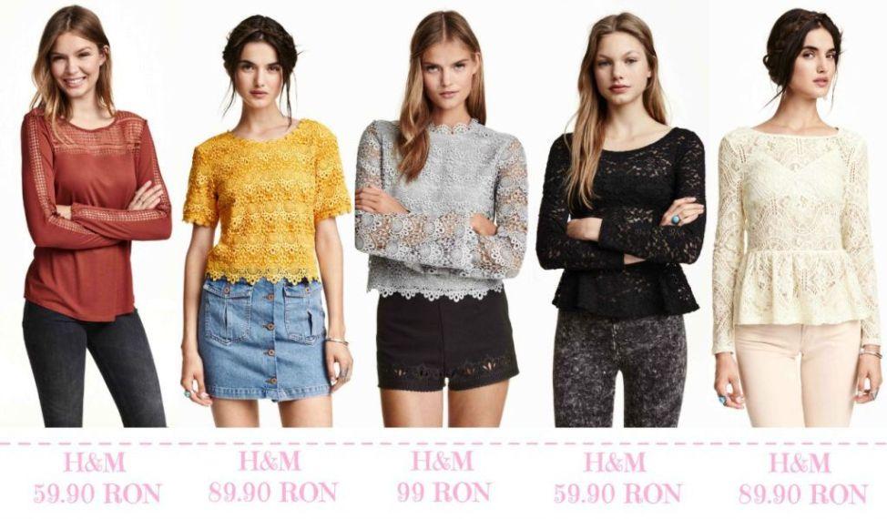 Modele bluze toamna