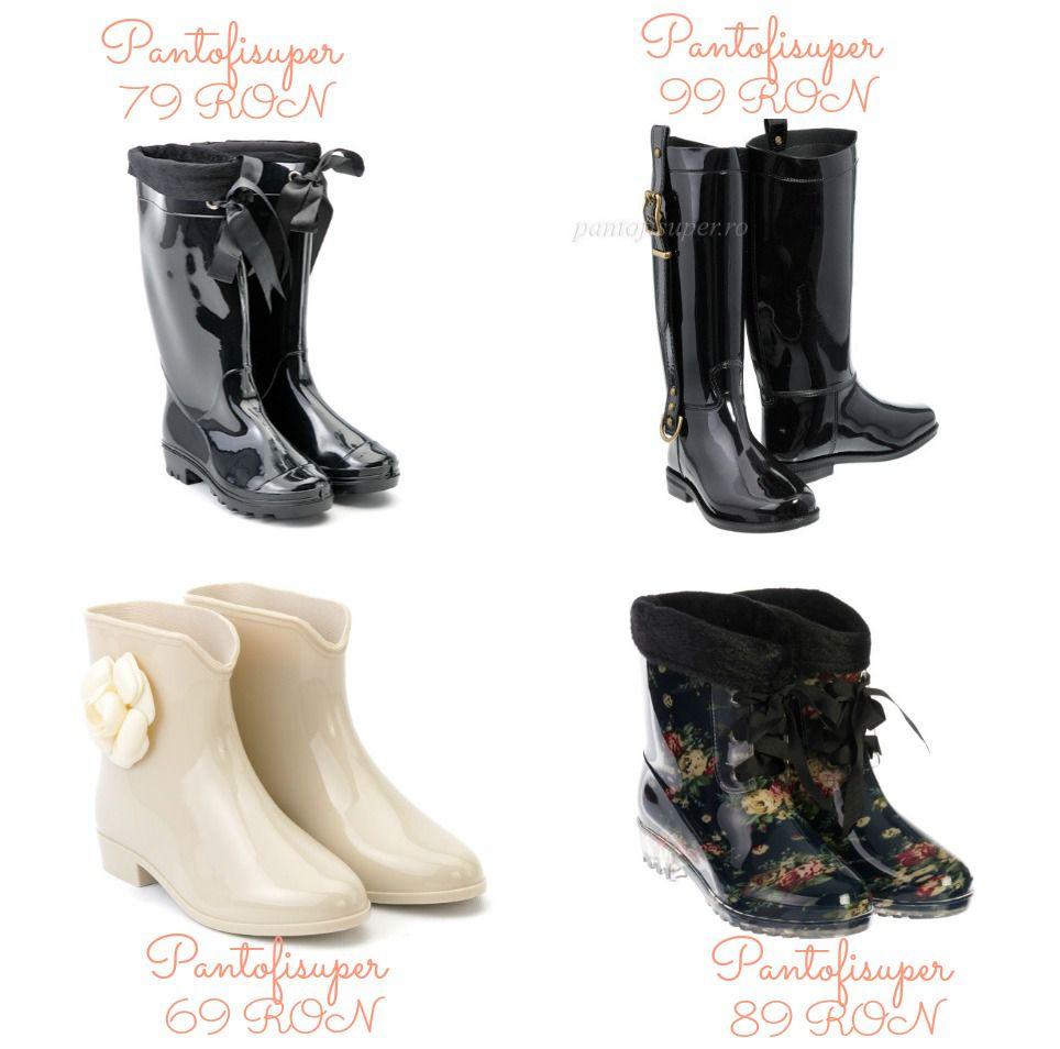 Modele incaltaminte dama pentru toamna-iarna 2015-2016 │ Cizme cauciuc