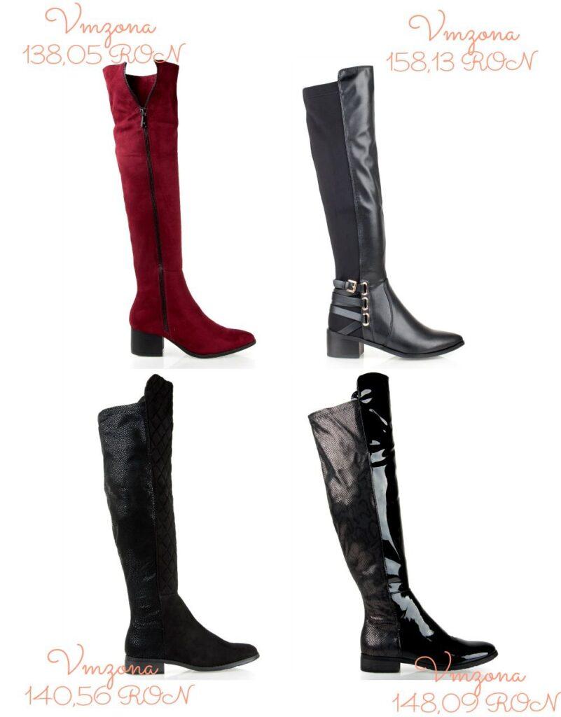 Modele incaltaminte dama pentru toamna-iarna 2015-2016 │ Cizme pana la genunchi