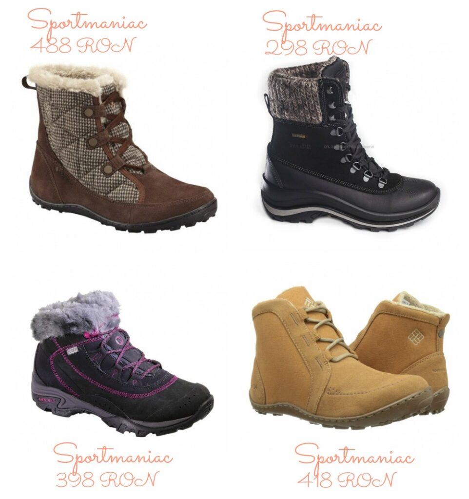 Modele incaltaminte dama pentru toamna-iarna 2015-2016 │ Ghete imblanite