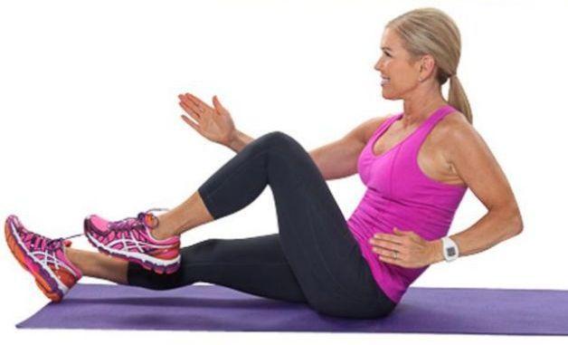 11 Super exercitii pentru abdomen plat - Featured Image
