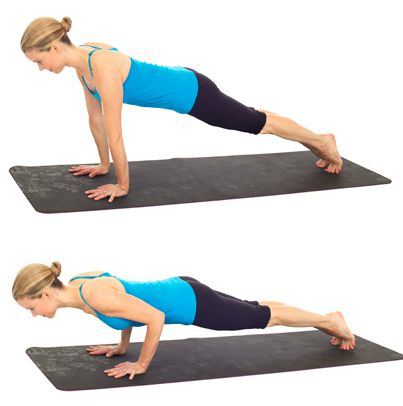 Exercitii pilates pentru brate