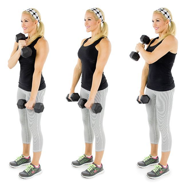 Exercitii pentru brate | Exercitii gantere | Criss-Cross Gantere