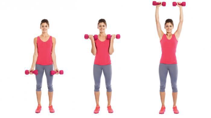 Exercitii pentru brate | Exercitii umeri | Exercitii umeri 3 in 1