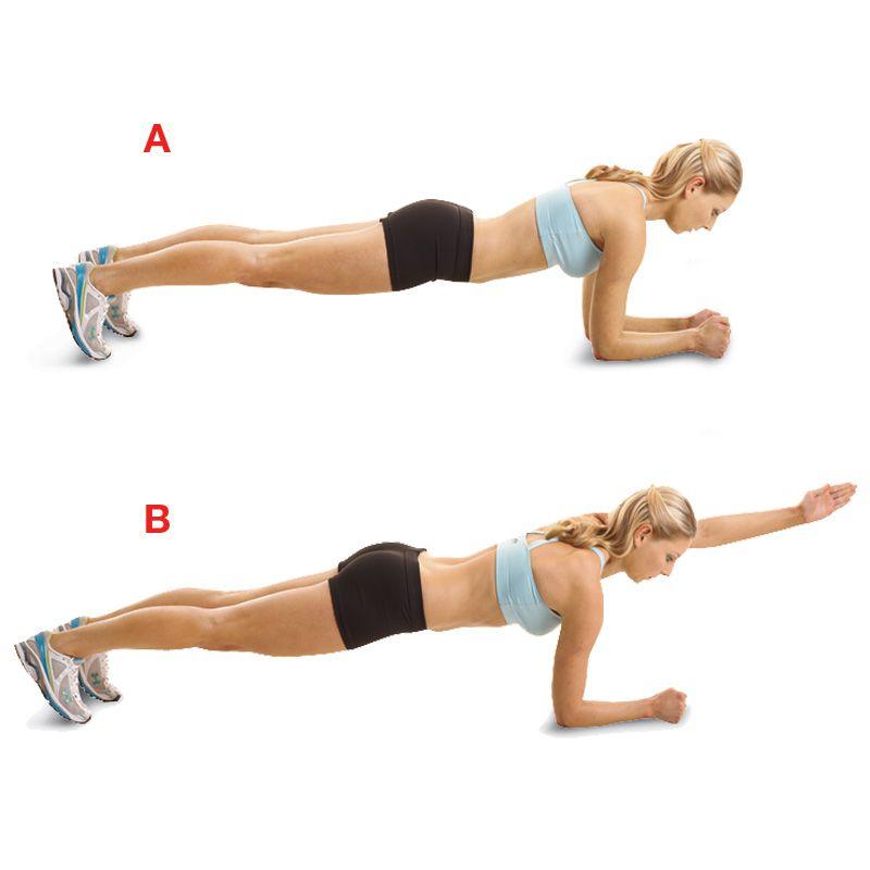 Exercitii pentru brate | Pilates pentru brate | Pansa cu o singura mana
