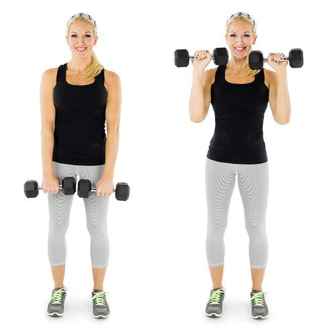 Exercitii pentru brate | Exercitii antebrat | Ridicare gantere