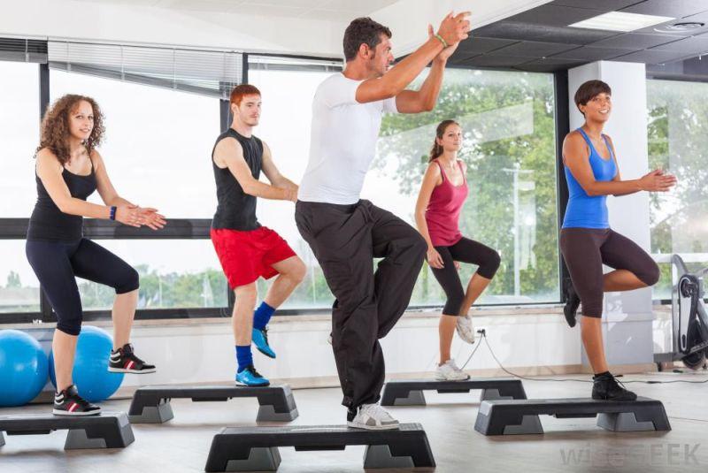 Step aerobic pentru slabit