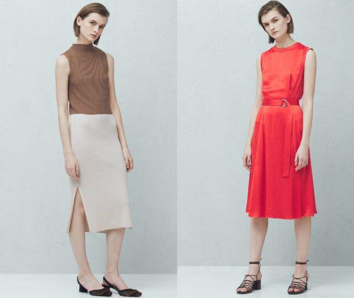 Tinute de primavara la moda rochii office