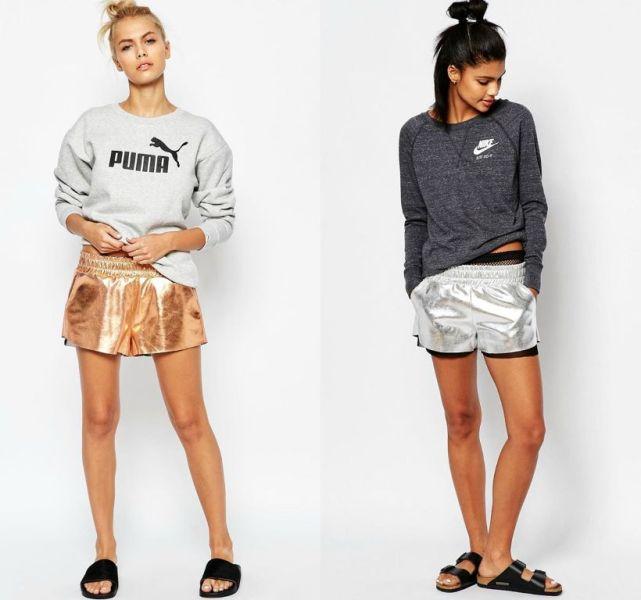 Outfit sport femei cu pantaloni scurti