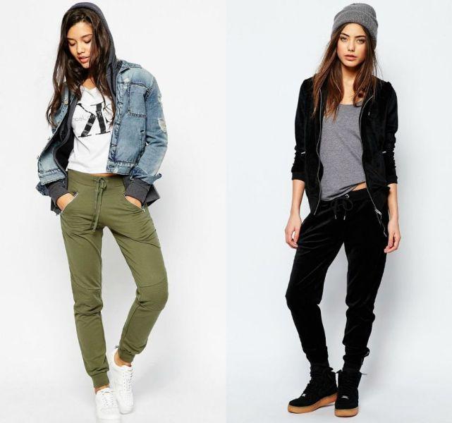 Outfit sport femei cu pantaloni sport