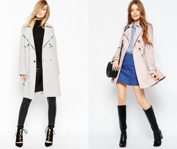 Pardesiu sau trench la moda in 2016