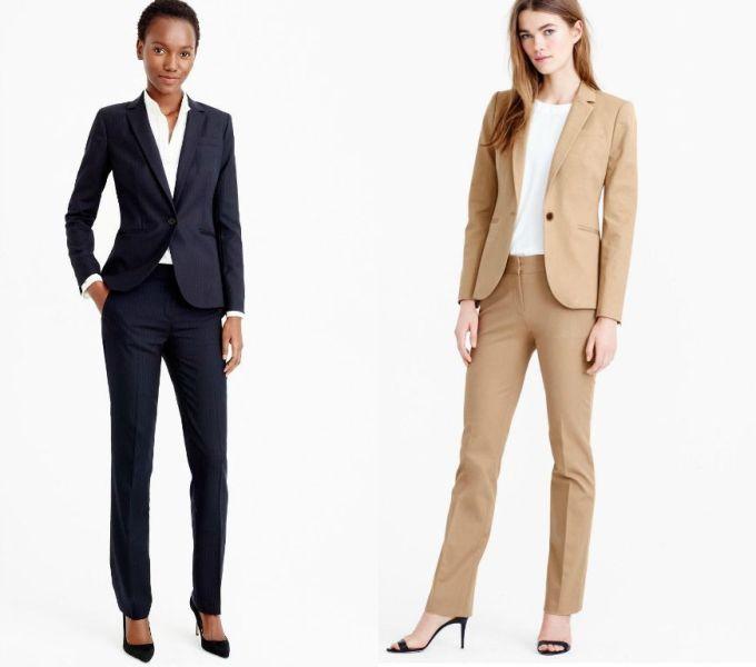 Tinute birou elegante cu pantaloni la moda in primavara 2016