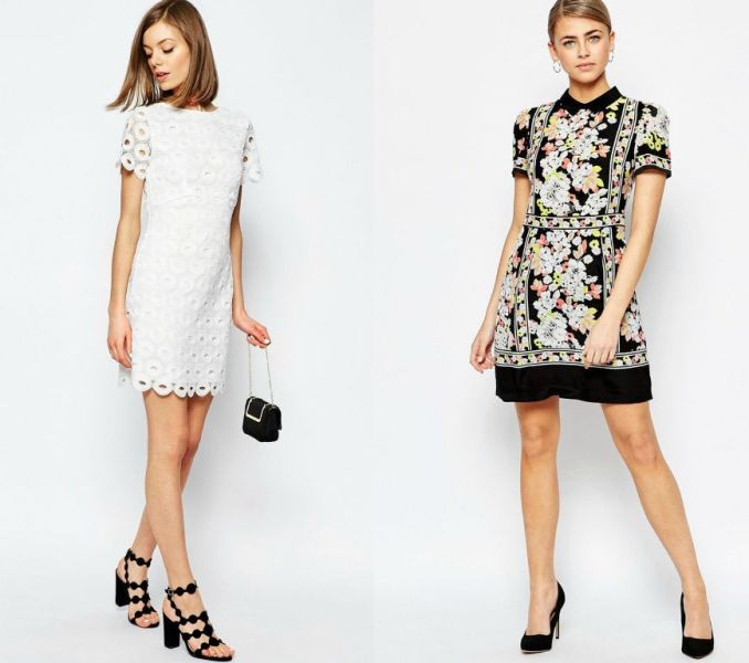 Tinute de primavara 2016 cu rochii de zi elegante