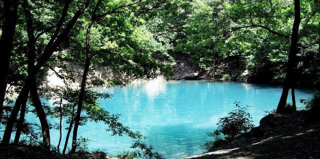 Obiective turistice din Romania | Lacul albastru
