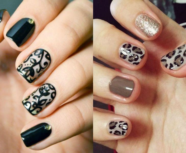 Modele unghii naturale