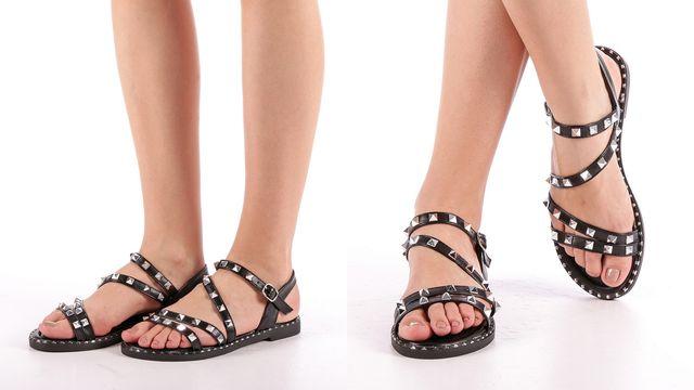 Modele noi sandale romane