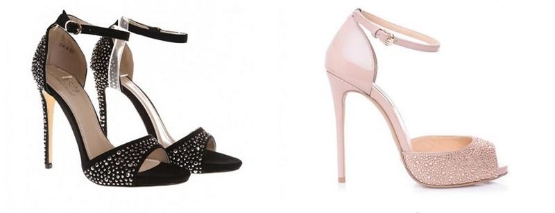 Sandale cu pietre elegante