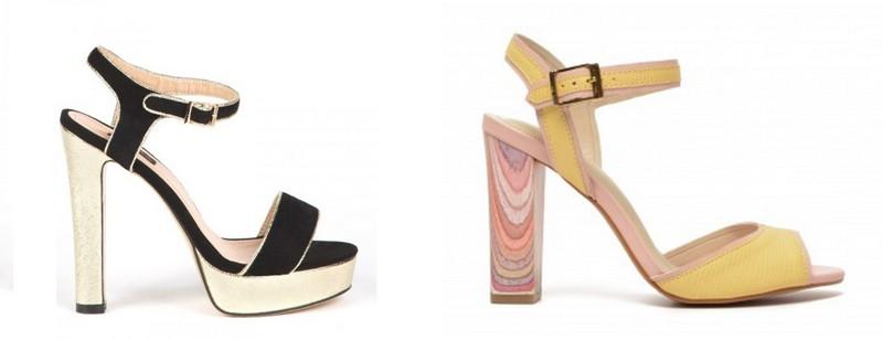 Modele de sandale cu platforma