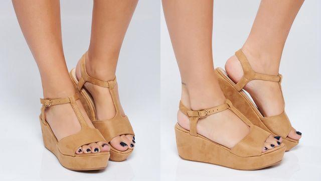 Modele sandale cu platforma