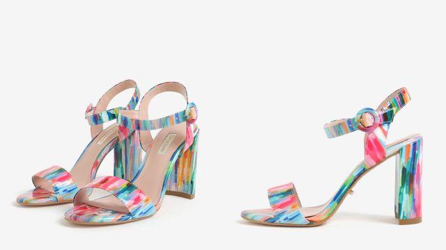 Modele de sandale cu toc inalt