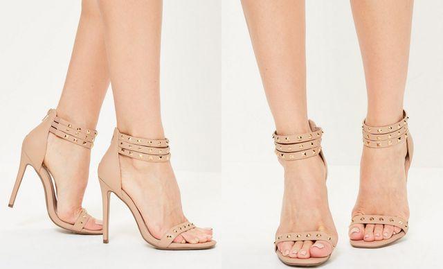 Modele sandale elegante nude