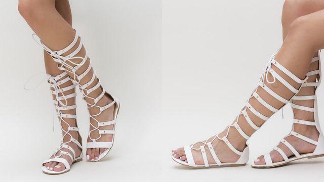 Sandale fara toc pentru femei