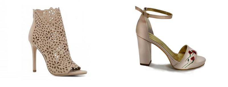 Modele noi sandale cu toc