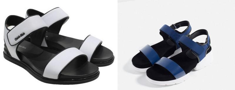 Modele sandale sport pentru dame