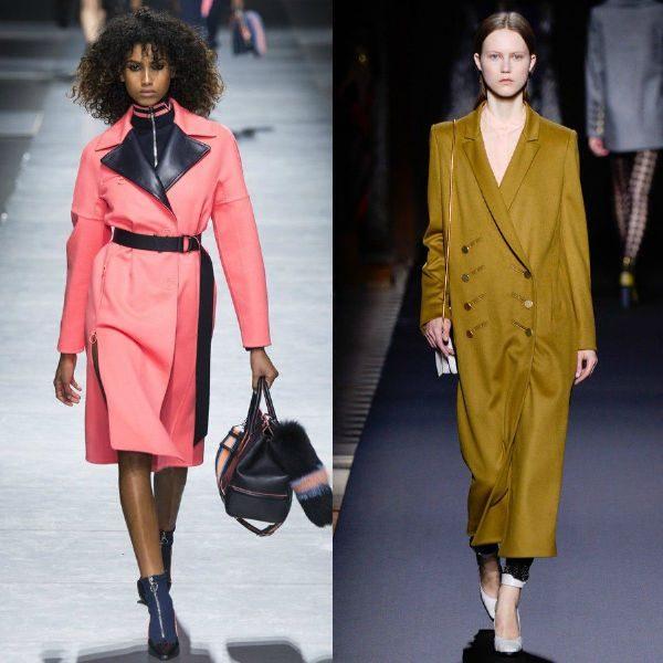 Trenciuri colorate la moda in sezonul toamna iarna