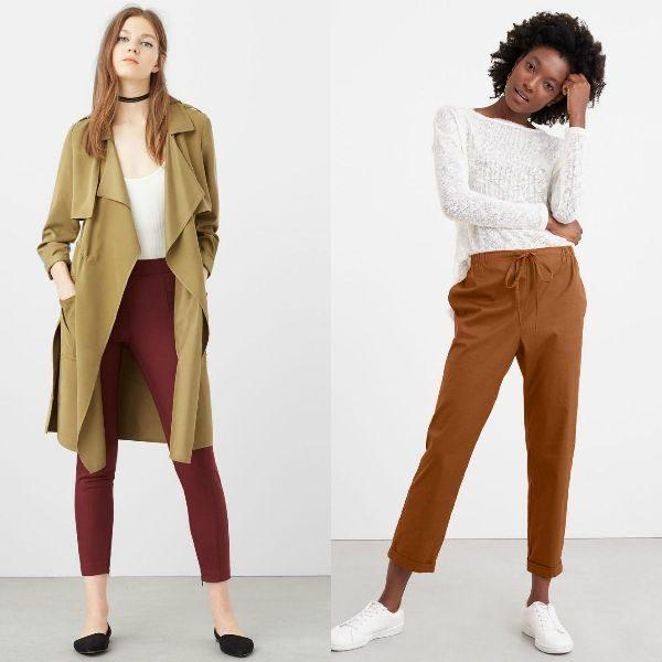 Pantaloni casual la moda toamna