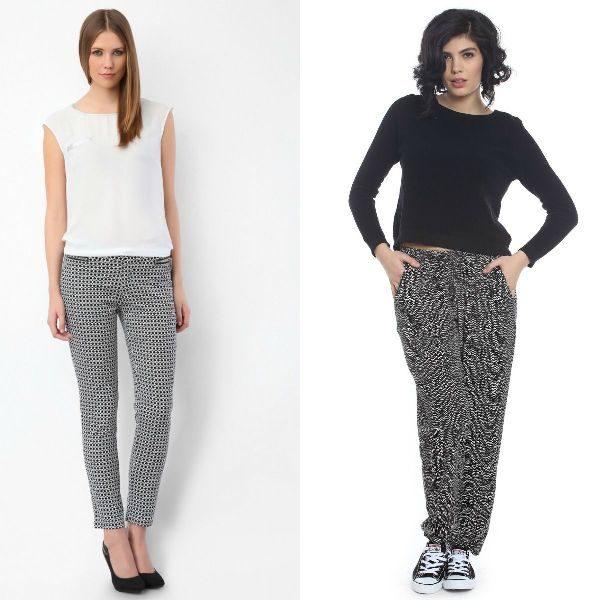 Pantaloni dama cu buline la moda in sezonul toamna iarna 2016-2017