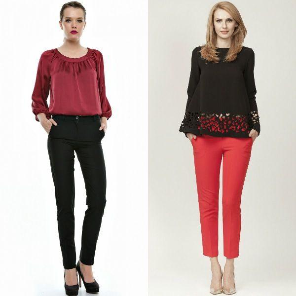 Pantaloni dama birou sau office la moda toamna iarna 2016-2017