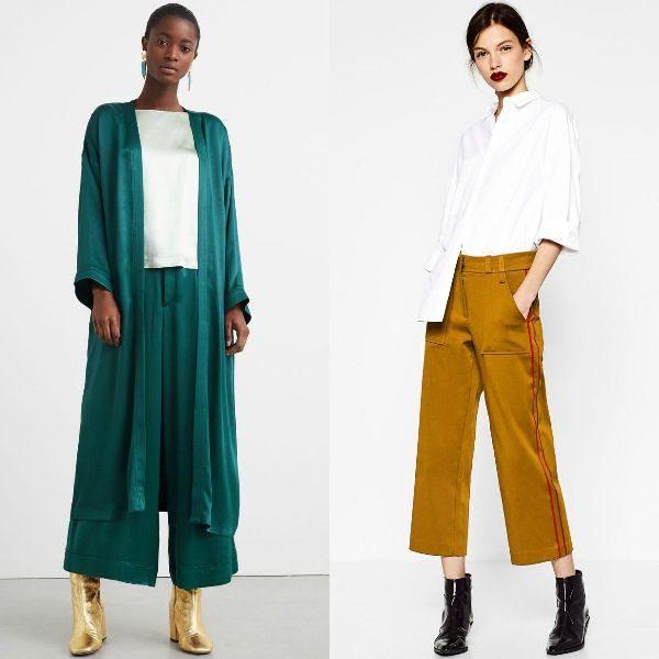 Pantaloni dama colorati