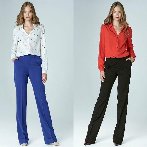 Pantaloni dama drepti la moda in sezonul toamna iarna