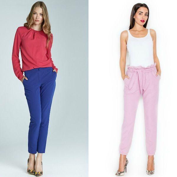Pantaloni dama eleganti pentru femei