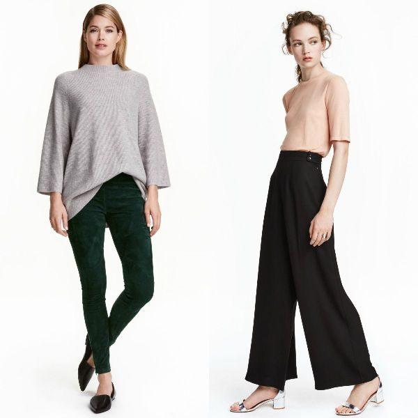 Pantaloni dama cu talie inalta pentru sezonul toamna iarna