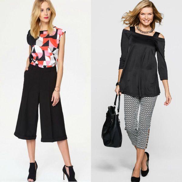 Pantaloni dama trei sefrturi la moda toamna iarna 2016-2017