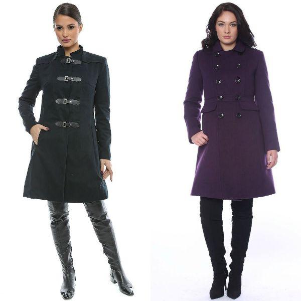 Paltoane dama elegante la moda iarna 2016