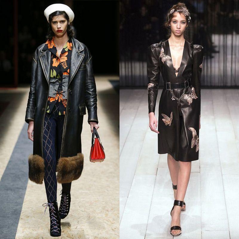 Tendinte moda pentru paltoane dama 2016-2017 | Haine piele